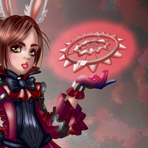 (2013) I made a Fanart of an Elin Character, Game: Tera Online - made with Painttool Sai.